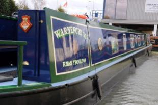 Fleet Air Arm narrowboat Warneford VC